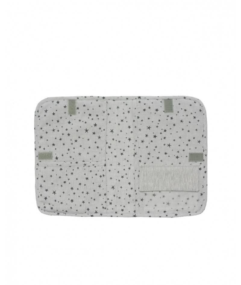Portadocumentos para bebe en gris
