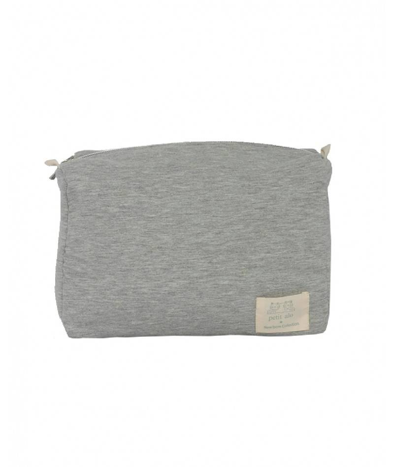Neceser gris para bebé
