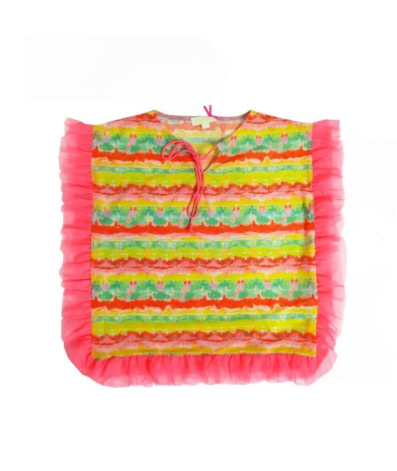 Kaftan infantil estampado Tie Dye