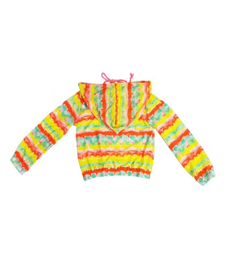 Sudadera infantil estampado Tie Dye