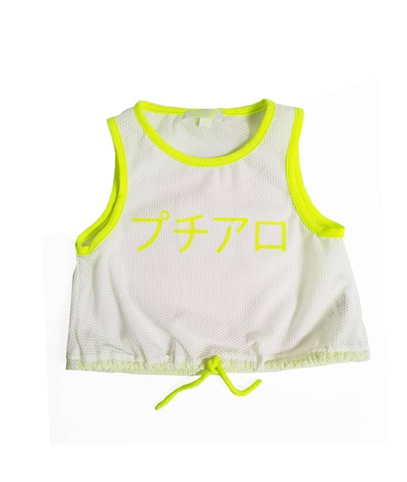 Top, camiseta de tirantes infantil