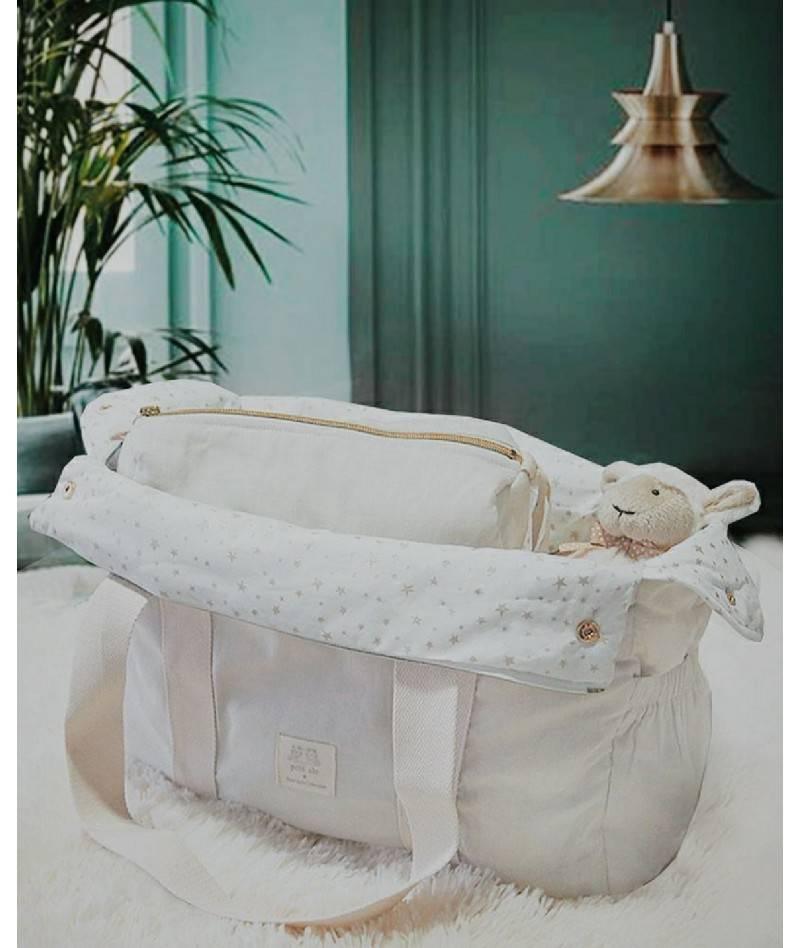 Bolsa de maternidad lino