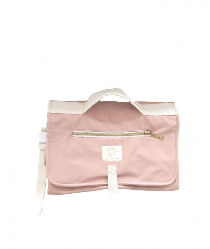 Cambiador de bebé rosa