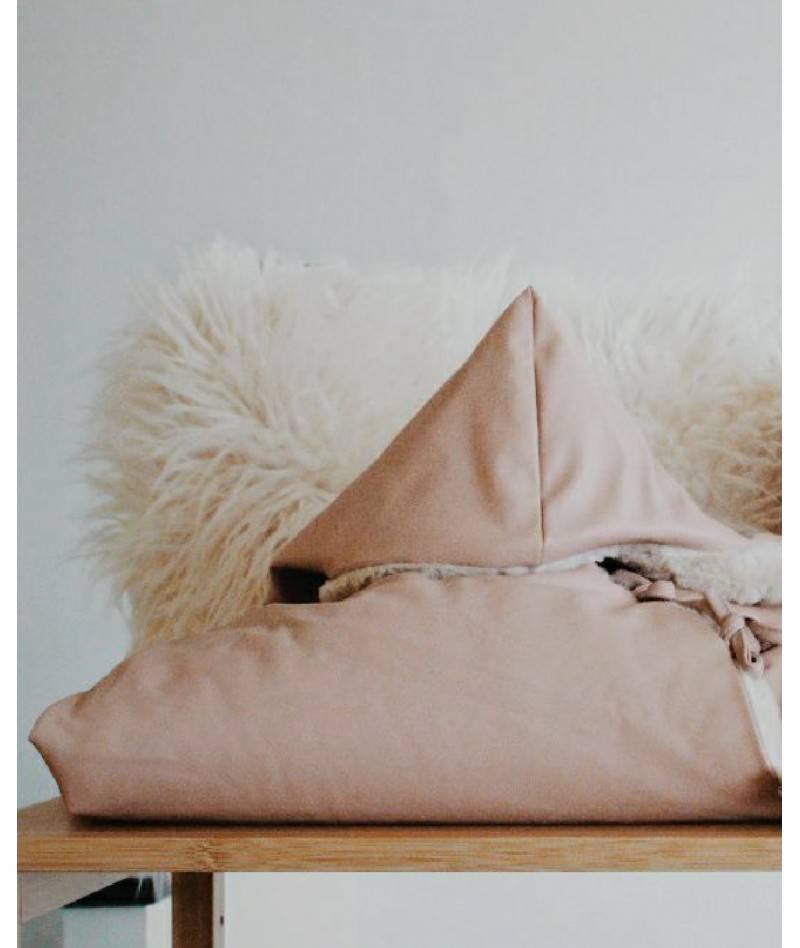 Saco de dormir para bebé rosa
