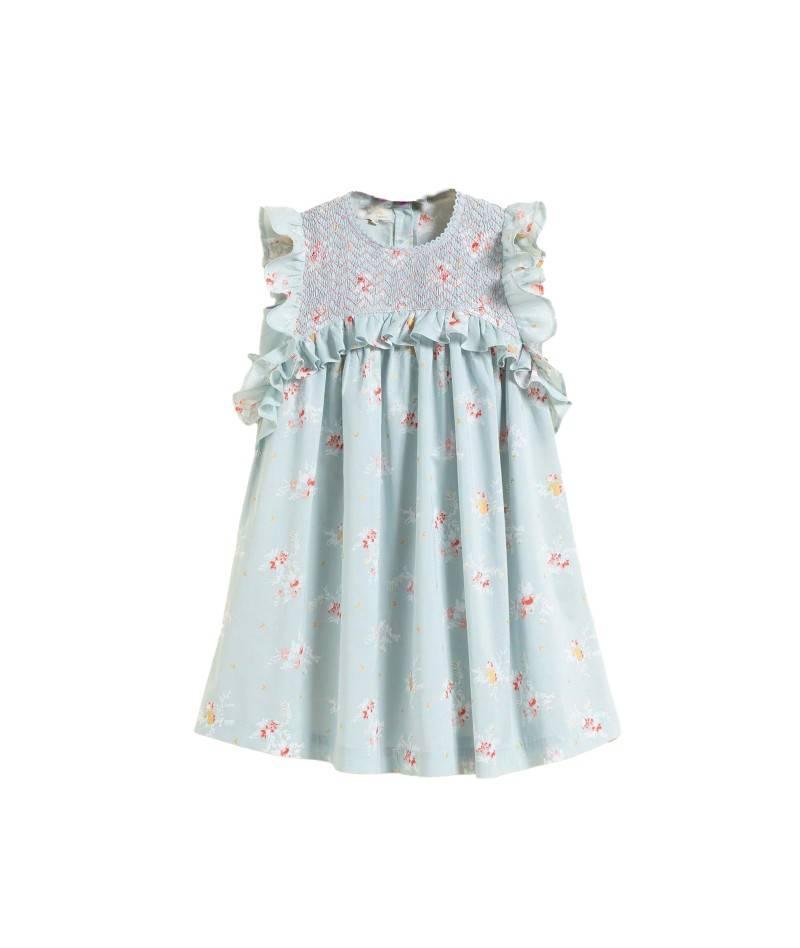 Vestido para niña flores. Vestido de verano niña. Moda infantil
