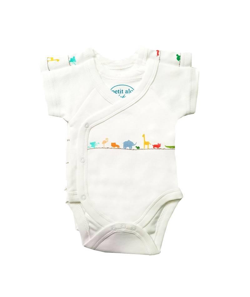 Body para bebé de manga corta