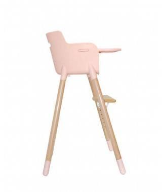 Abrigo de pelo rosa niña