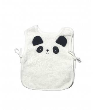 Babero bebé motivo oso panda
