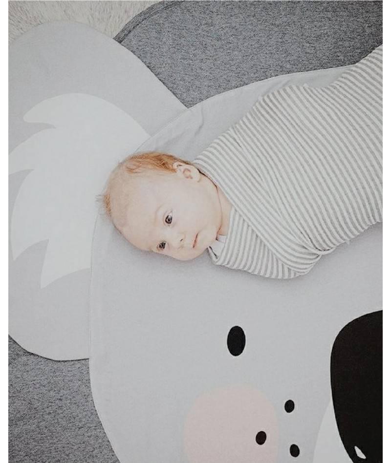 Manta de gateo para bebé