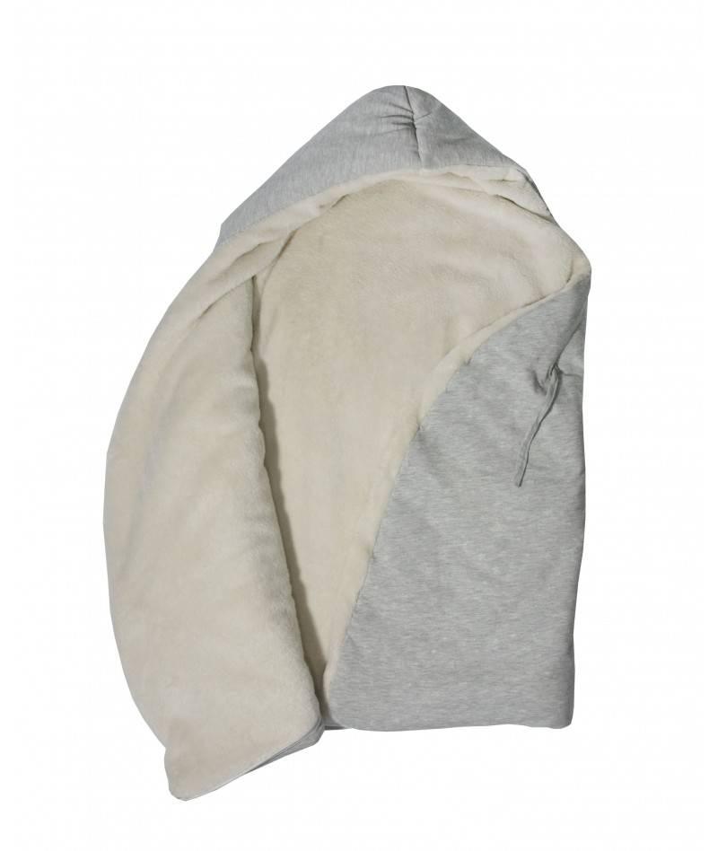 Saco de dormir para bebé gris