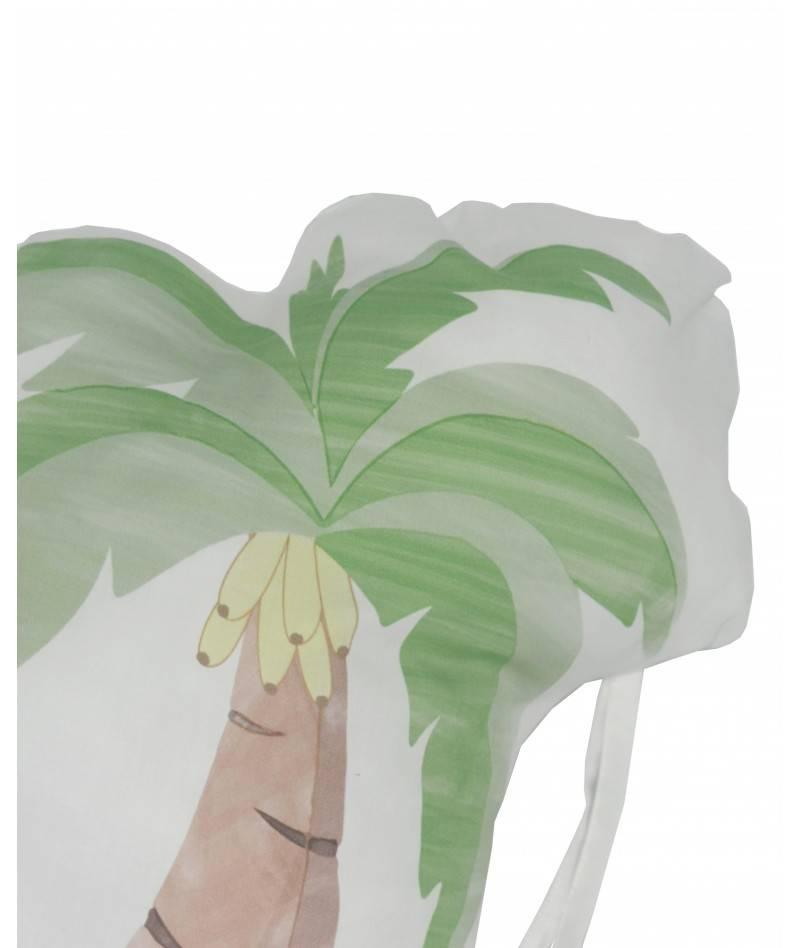 cojín protector cuna motivo palmera